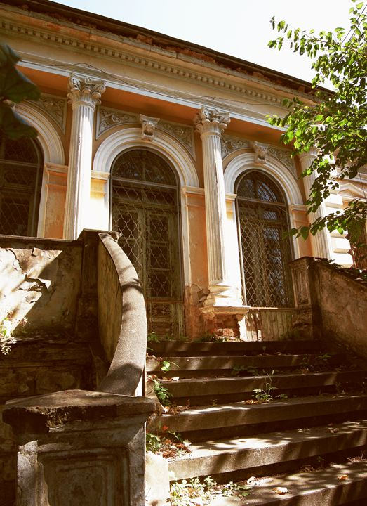 Old house with corinthian columns - Vlad Baciu Photography