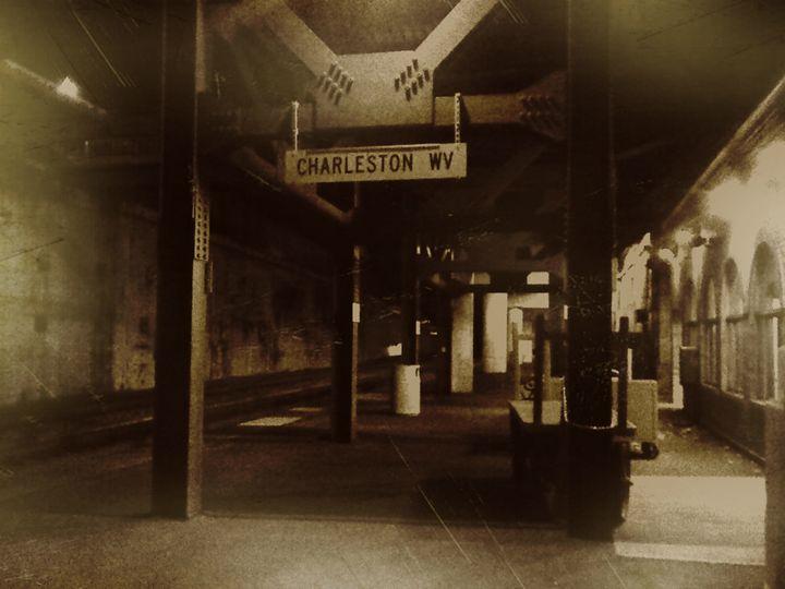 Charleston WV Train Depot - Cochran Art Gallery