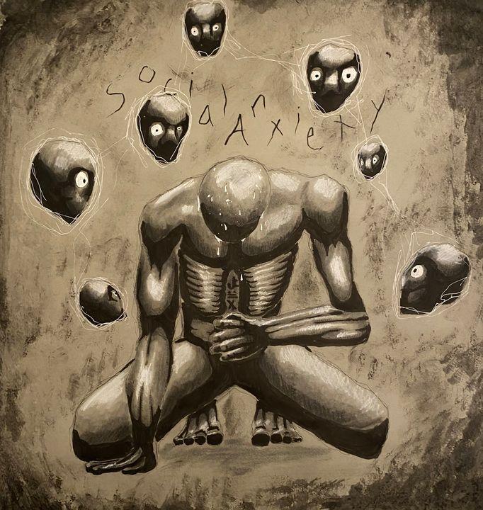 Social anxiety - Genuine Arts