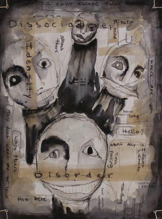 Dissociative Identity Disorder - Genuine Arts