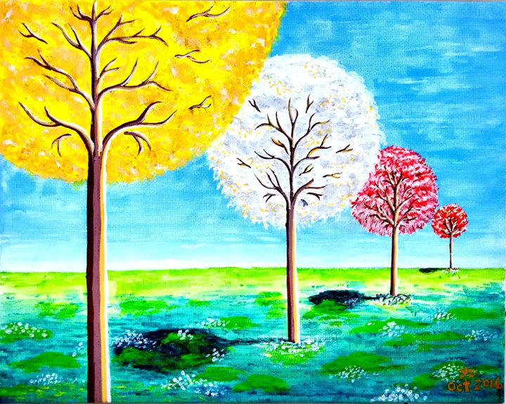 TREES IN COLOR - YS Gallery