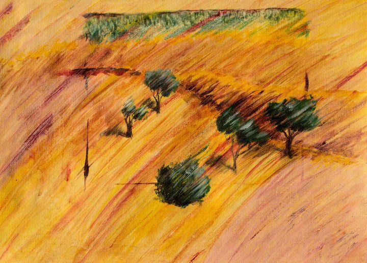 Hillside sketch - Another Steve again