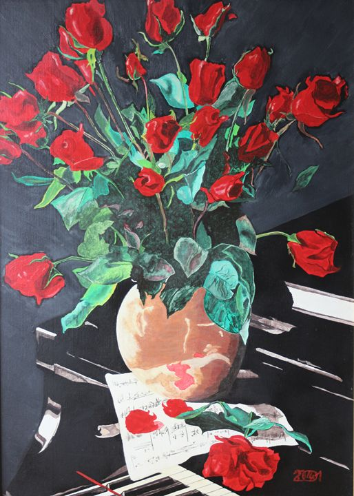 Flowers on the Piano - Relative, Creativ