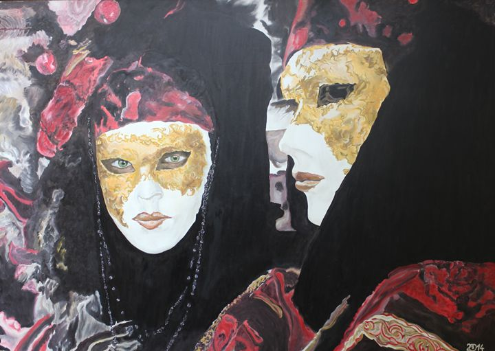 Venice Carnival, Faces - Relative, Creativ