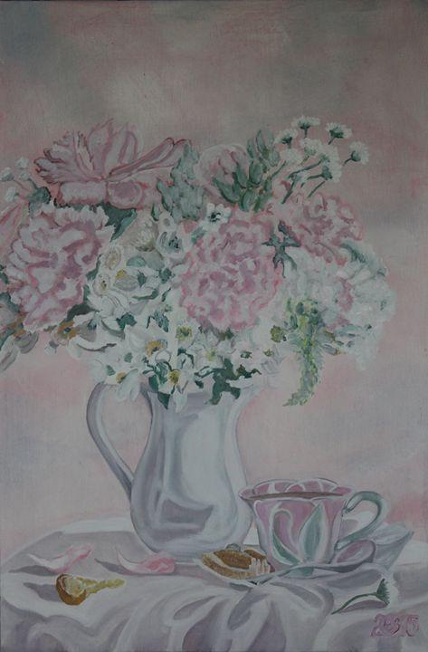 Still Life with a Tea Cup - Relative, Creativ