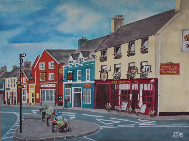 Part of Irish City - Relative, Creativ