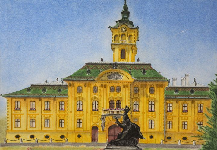 Town Hall Szeged - Relative, Creativ