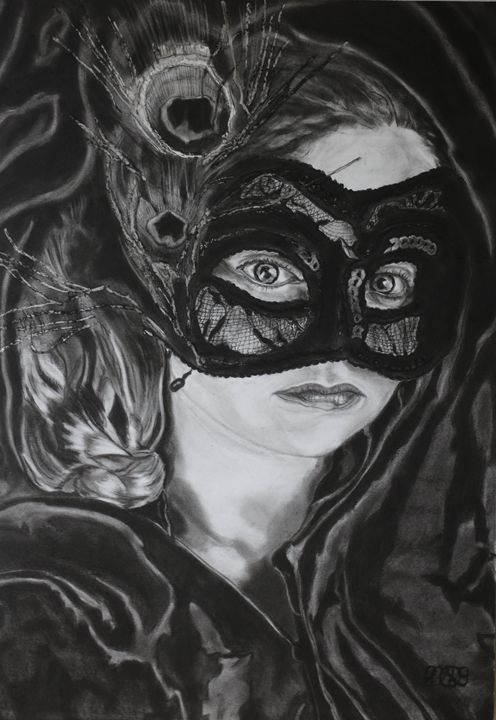 Masked Little Girl - Relative, Creativ