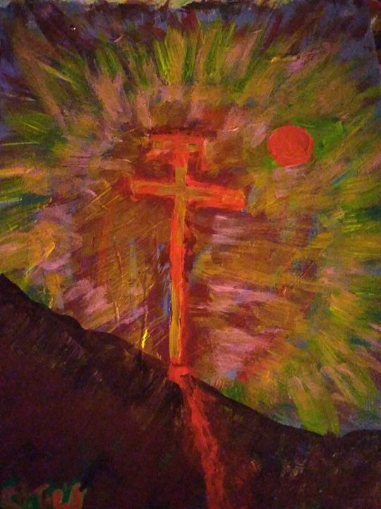 Blood on the cross - Stephen John whelan