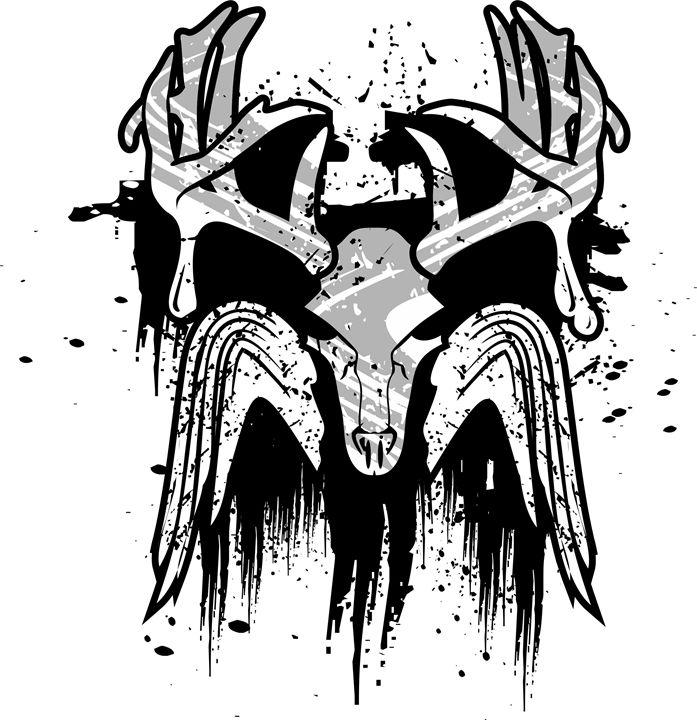 Deer Skull - oriaj