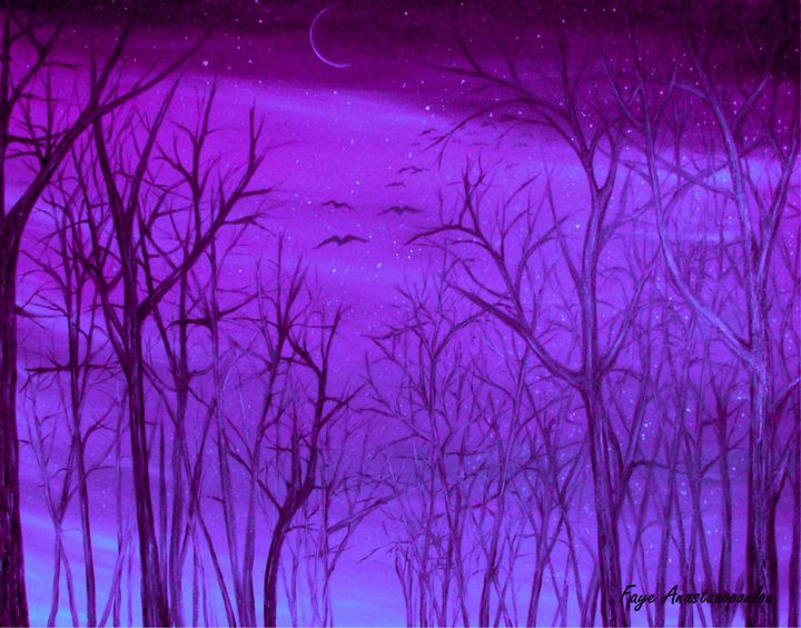 Forest Light - Faye Anastasopoulou
