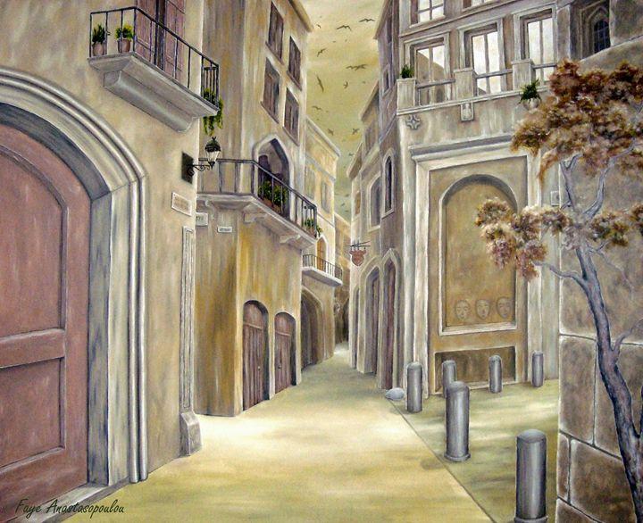 Town Alley - Faye Anastasopoulou