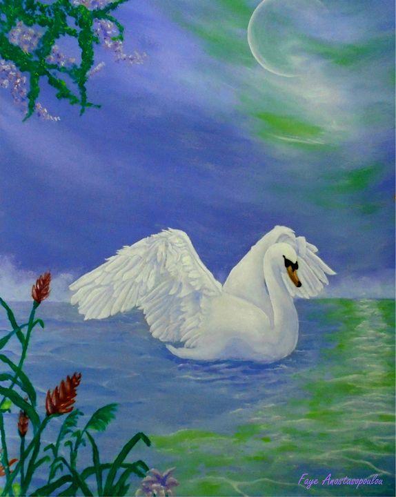 Swan Night - Faye Anastasopoulou