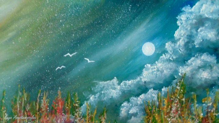 Full Moon - Faye Anastasopoulou