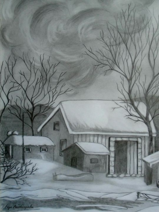 Winter Scene - Faye Anastasopoulou