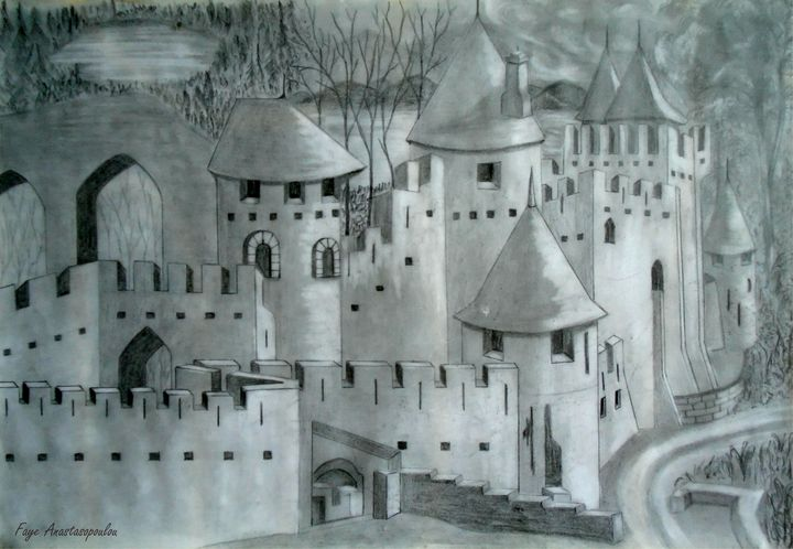 View Of A Castle - Faye Anastasopoulou
