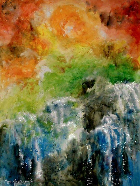 Sunset Waterfalls - Faye Anastasopoulou