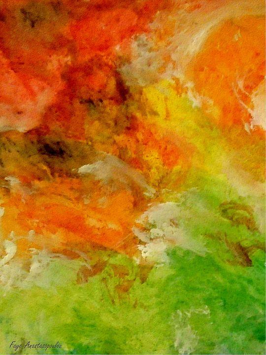 Earth On Fire - Faye Anastasopoulou