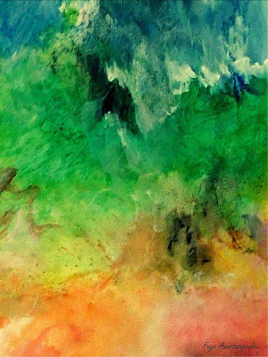 Forest Mountains - Faye Anastasopoulou