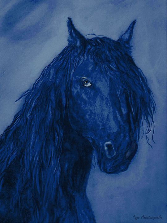 Blue Heart - Faye Anastasopoulou
