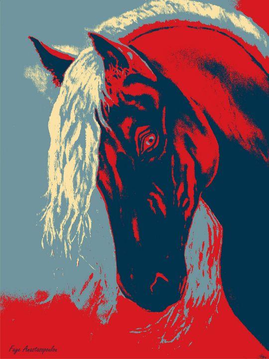 Abstract Horse - Faye Anastasopoulou