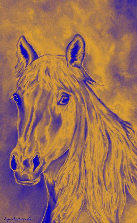 Moonlight Horse - Faye Anastasopoulou