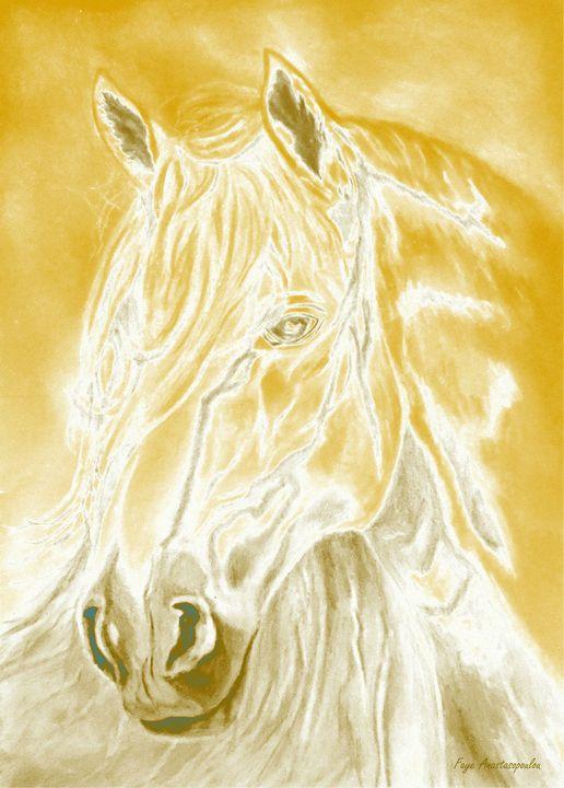 Sunshine Horse - Faye Anastasopoulou