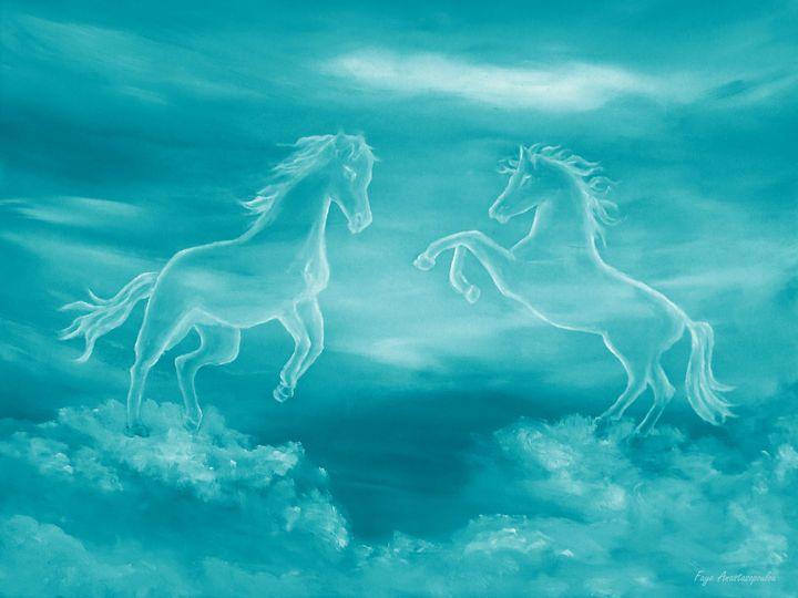 Celestial Horses - Faye Anastasopoulou