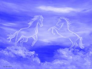 Horse Spirit Clouds