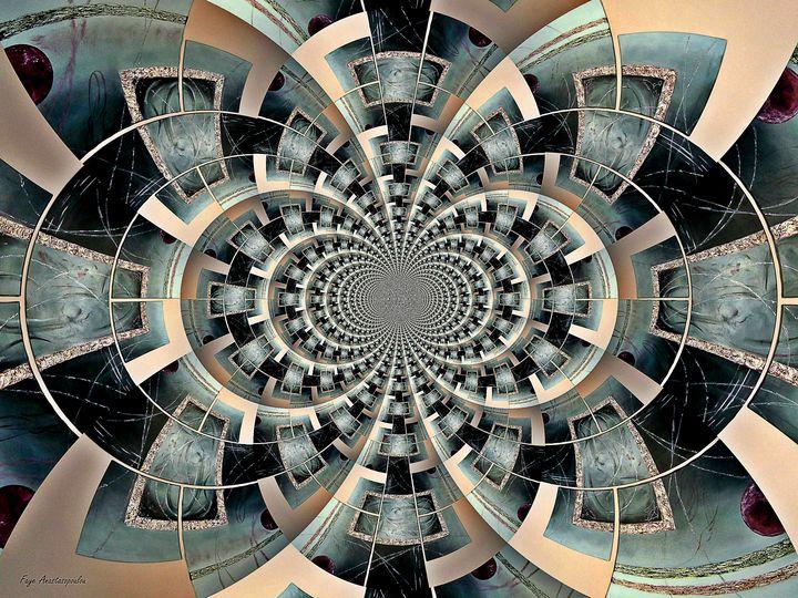 Graphic Ornamental Silver - Faye Anastasopoulou