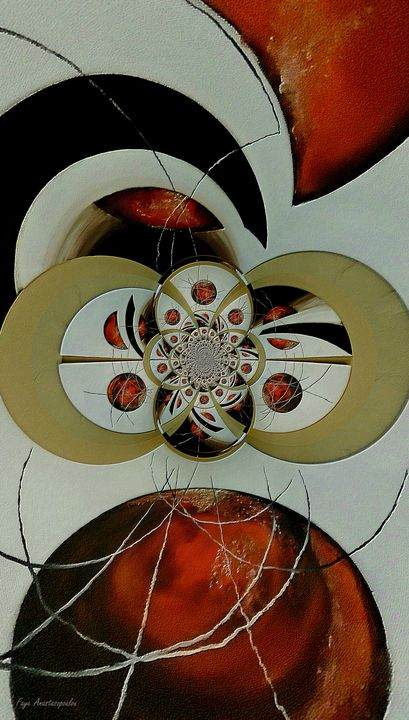 Cosmic Kaleidoscope Amber - Faye Anastasopoulou