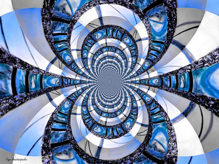 Infinity Blue - Faye Anastasopoulou