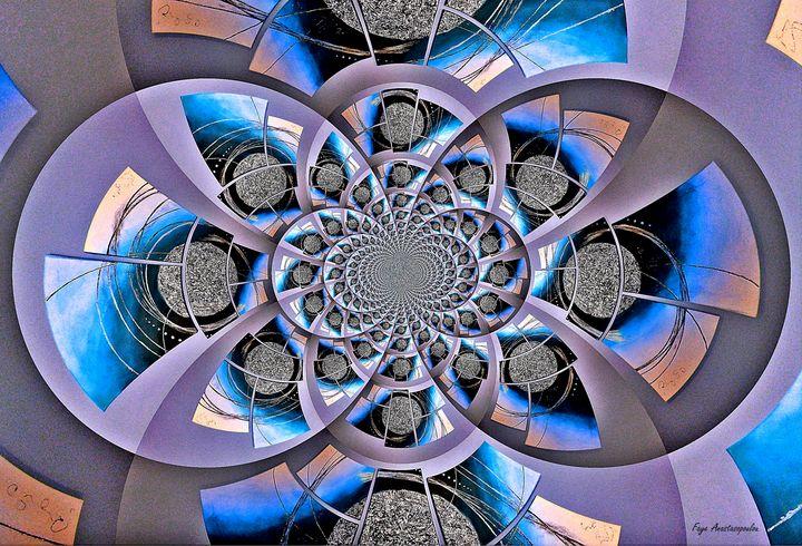 Mirror Infinity Azure - Faye Anastasopoulou