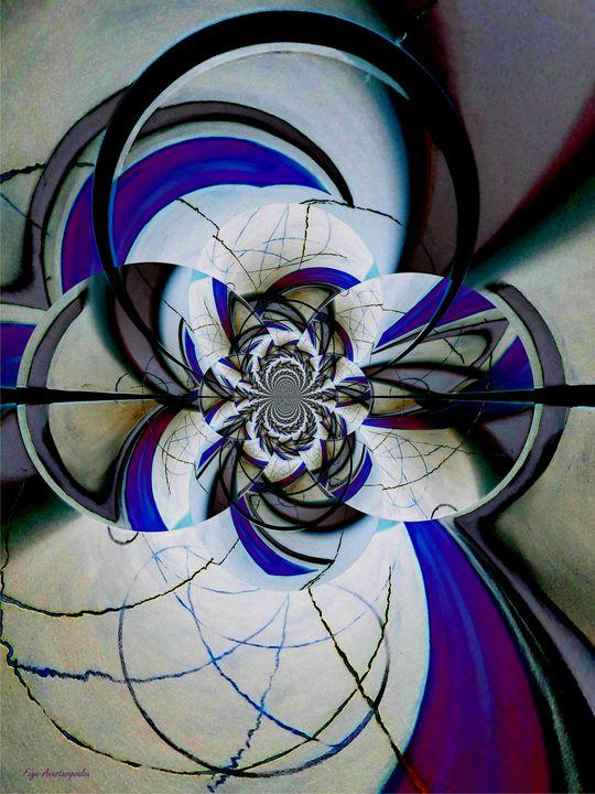 Broken Symmetry Lavender - Faye Anastasopoulou