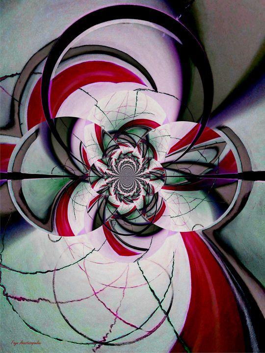 Broken Symmetry Red - Faye Anastasopoulou