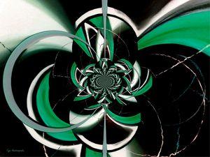 Dazzling Vector Jade