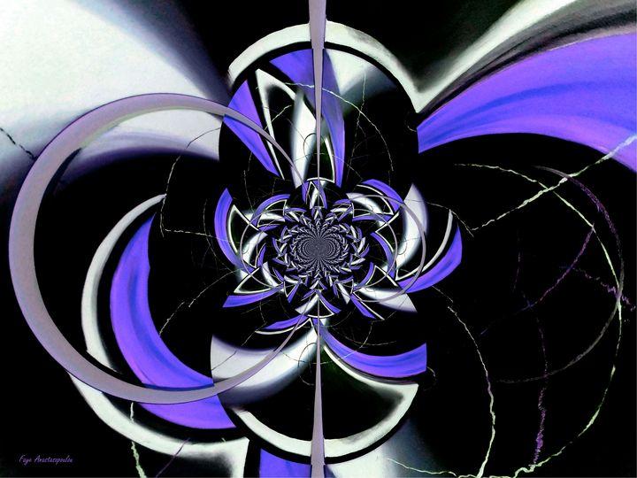 Dazzling Vector Lavender - Faye Anastasopoulou