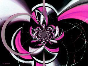 Dazzling Vector Pink