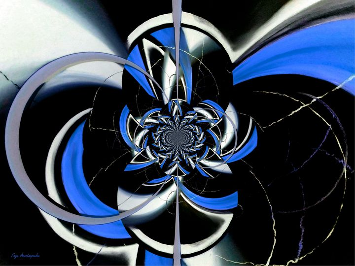 Dazzling Vector Sapphire - Faye Anastasopoulou