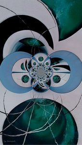 Cosmic Kaleidoscope Jade