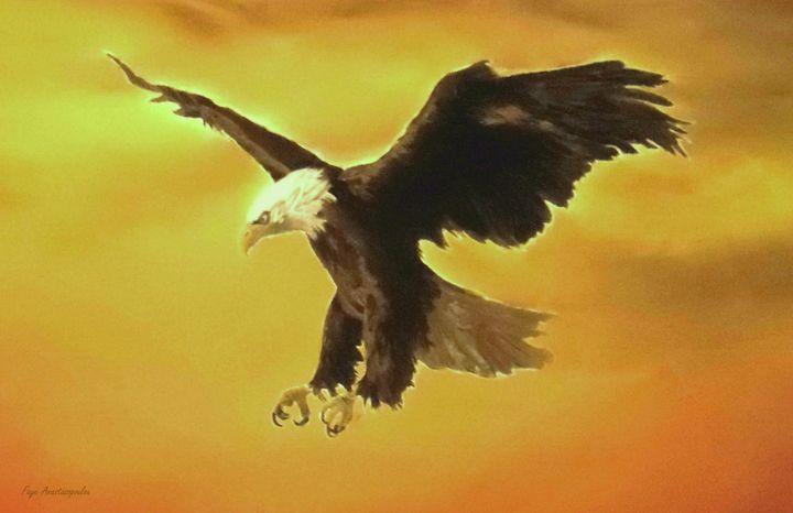 Flying Predator - Faye Anastasopoulou