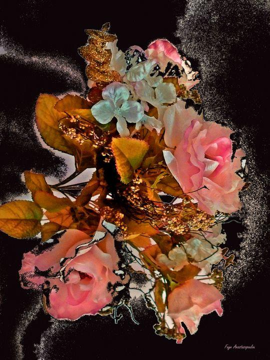 Rhapsody Of Pink Roses - Faye Anastasopoulou
