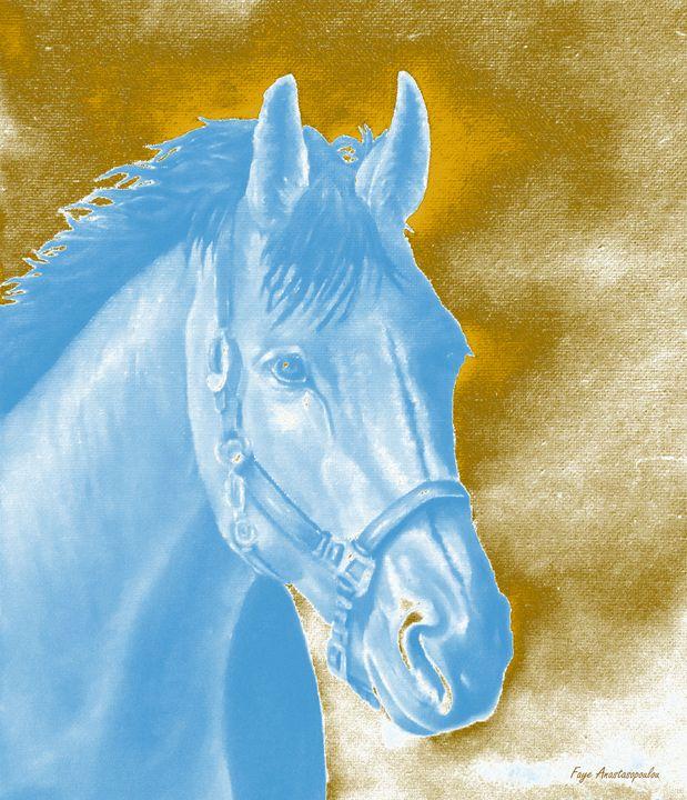 Golden Essence Horse - Faye Anastasopoulou