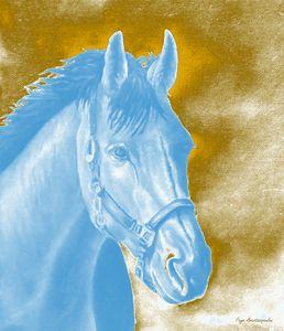Golden Essence Horse