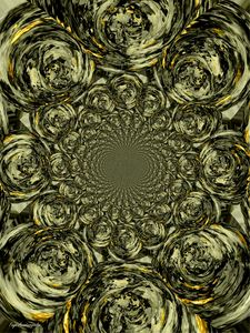 Psychedelic Vortex Gold