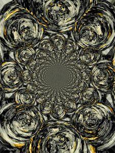 Psychedelic Vortex Silver