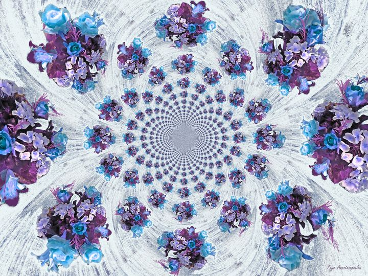 Snowing Flowers - Faye Anastasopoulou