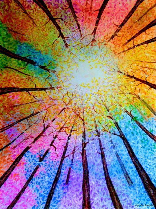 Rainbow Forest - Faye Anastasopoulou