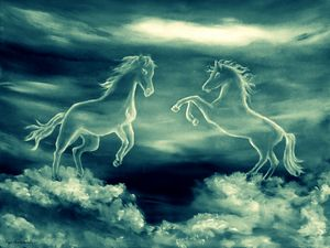Legend Of The White Horses