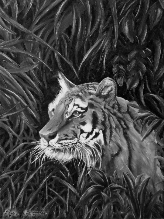 Tiger Portrait - Faye Anastasopoulou